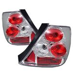 Honda Civic Si Hatchback 2003-2005 Clear Altezza Tail Lights