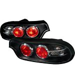 Mazda RX7 1993-1995 Black Altezza Tail Lights