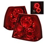 VW Jetta 1999-2004 Red LED Tail Lights