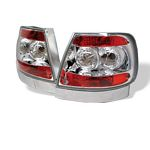 Audi A4 1996-2001 Clear Altezza Tail Lights
