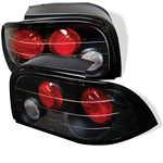 1994 Ford Mustang Black Altezza Tail Lights