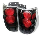 1999 Ford Expedition Black Altezza Tail Lights