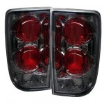 2000 Oldsmobile Bravada Smoked Altezza Tail Lights