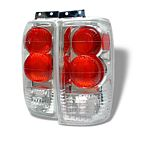 1999 Ford Expedition Clear Altezza Tail Lights