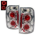 2000 Chevy Blazer Clear LED Ring Tail Lights