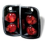 Chevy Blazer 1995-2004 Black Altezza Tail Lights