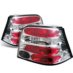 VW Golf 1999-2004 Clear Altezza Tail Lights