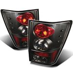 2005 Jeep Grand Cherokee Black Altezza Tail Lights