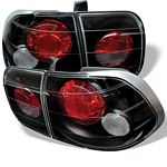 Honda Civic Sedan 1996-1998 JDM Black Altezza Tail Lights