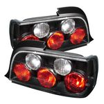 1998 BMW E36 Coupe 3 Series Black Altezza Tail Lights