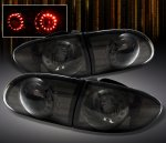 2002 Chevy Cavalier Smoked LED Tail Lights