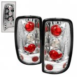 2005 Chevy Suburban Barn Door Clear Altezza Tail Lights