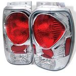 2000 Ford Explorer Clear Altezza Tail Lights