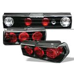 Honda CRX 1988-1991 Black Altezza Tail Lights