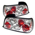 1998 BMW E36 Coupe 3 Series Clear Altezza Tail Lights