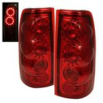 2002 Chevy Silverado Red Ring LED Tail Lights