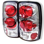 GMC Yukon 2000-2006 Clear Altezza Tail Lights