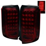 Scion xB 2008-2009 Red Smoked LED Tail Lights