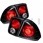 Honda Civic Sedan 2001-2005 Black Altezza Tail Lights