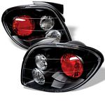 Hyundai Tiburon 2000-2002 Black Altezza Tail Lights