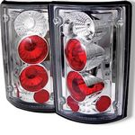 2001 Ford Excursion Clear Altezza Tail Lights