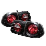 2000 Honda Civic Sedan JDM Black Altezza Tail Lights
