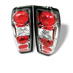 1999 Nissan Frontier Clear Altezza Tail Lights