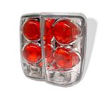 2002 GMC Jimmy Clear Altezza Tail Lights