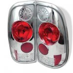 2001 Ford F250 Styleside Clear Altezza Tail Lights