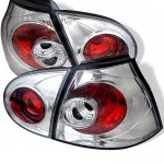 VW Rabbit 2006-2009 Clear Altezza Tail Lights
