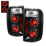 2000 Chevy Blazer Black LED Tail Lights