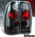 2007 Ford F350 Styleside Smoked Altezza Tail Lights