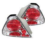 Honda Accord Coupe 1998-2000 Clear Altezza Tail Lights
