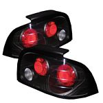 Ford Mustang 1996-1998 Black Altezza Tail Lights