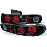 1998 Acura Integra Sedan JDM Black Altezza Tail Lights