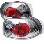 1996 Honda Del Sol Clear Altezza Tail Lights
