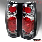 GMC Yukon 1992-1999 Clear Altezza Tail Lights
