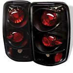 GMC Yukon 2000-2006 Black Altezza Tail Lights