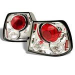 Hyundai Accent 2000-2002 Clear Altezza Tail Lights