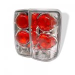 2000 GMC Envoy Clear Altezza Tail Lights