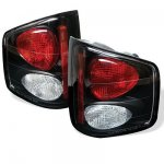 1998 Isuzu Hombre Black Altezza Tail Lights