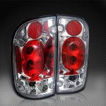 2002 Toyota Tacoma Clear Altezza Tail Lights
