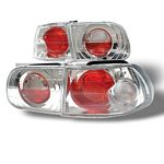 1993 Honda Civic Hatchback Clear Altezza Tail Lights