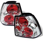 2002 VW Jetta Clear Altezza Tail Lights