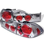 2002 Honda Accord Sedan Clear Altezza Tail Lights