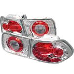 2000 Honda Civic Coupe Clear Altezza Tail Lights