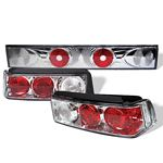 1989 Honda Civic Hatchback Clear Altezza Tail Lights