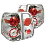 Lincoln Navigator 2003-2006 Clear Altezza Tail Lights