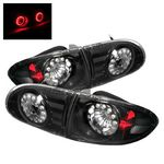 2002 Chevy Cavalier Black LED Tail Lights