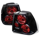 2004 VW Jetta Black Altezza Tail Lights
